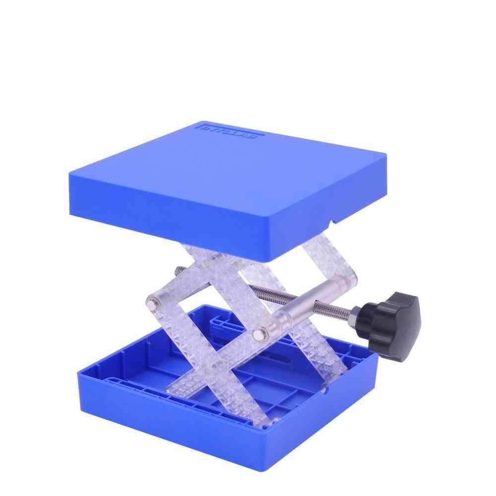Laboratory Lifting Platform Stand Rack & Scissor Jack Bench Lifter Lab