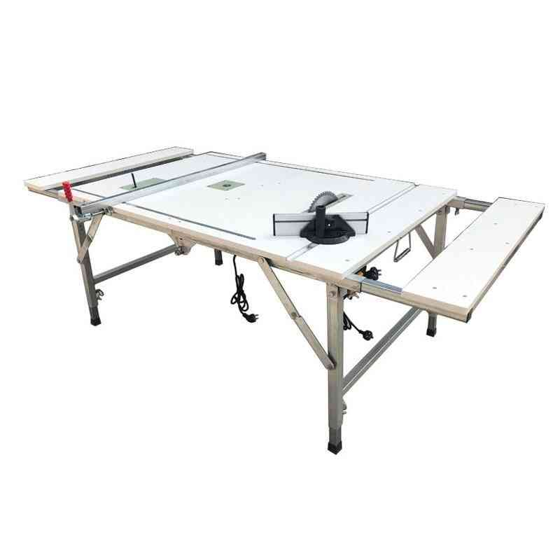 Multifunctional Portable Woodworking Saw Work Table