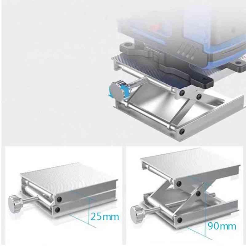 Adjustable Lift Table Lab Lifting Stand Rack Lift Platform