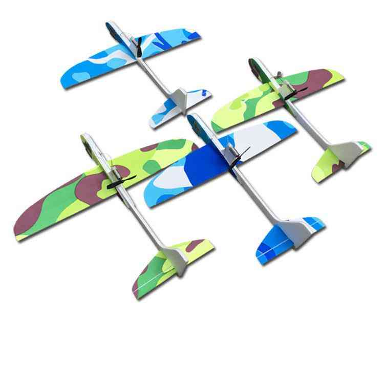 Capacitor Electric Airplanes, Hand Launch Throwing Glider Aircraft, Inertial Foam, Eva Toy, Plane Outdoor Educational