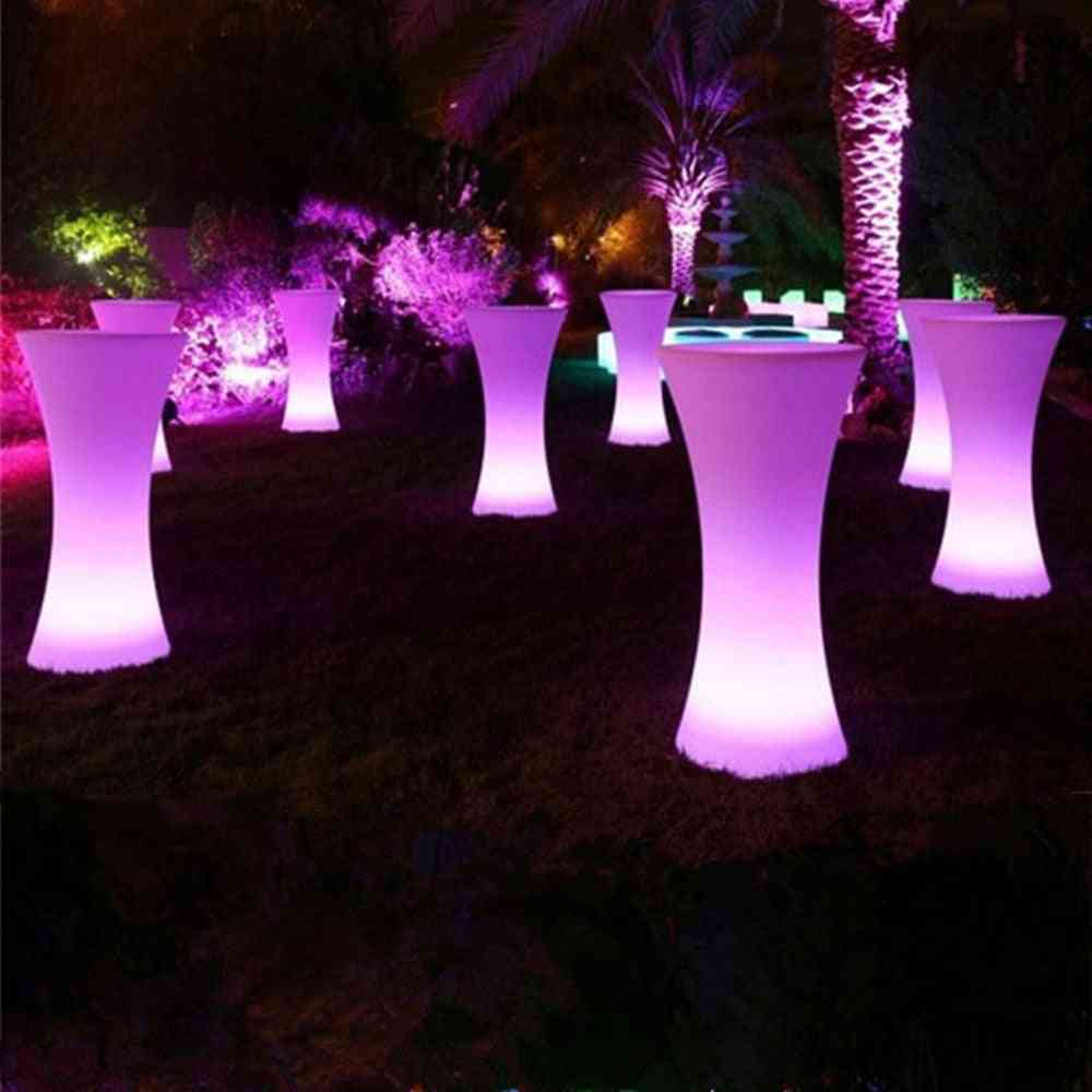 Rechargeable Led Cocktail Table