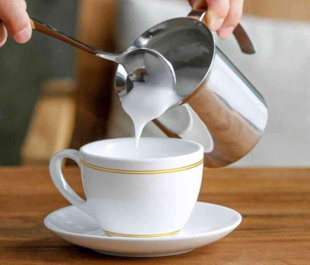 Manual Milk Frother Hand Pump Creamer