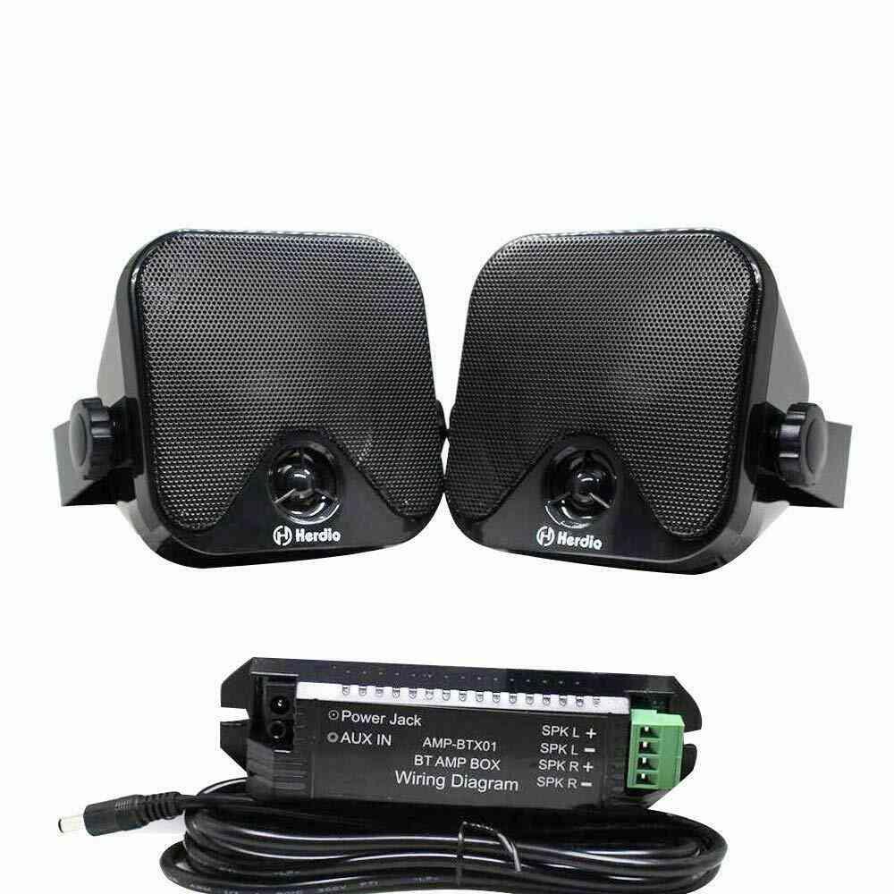 Marine Bluetooth Box Speakers
