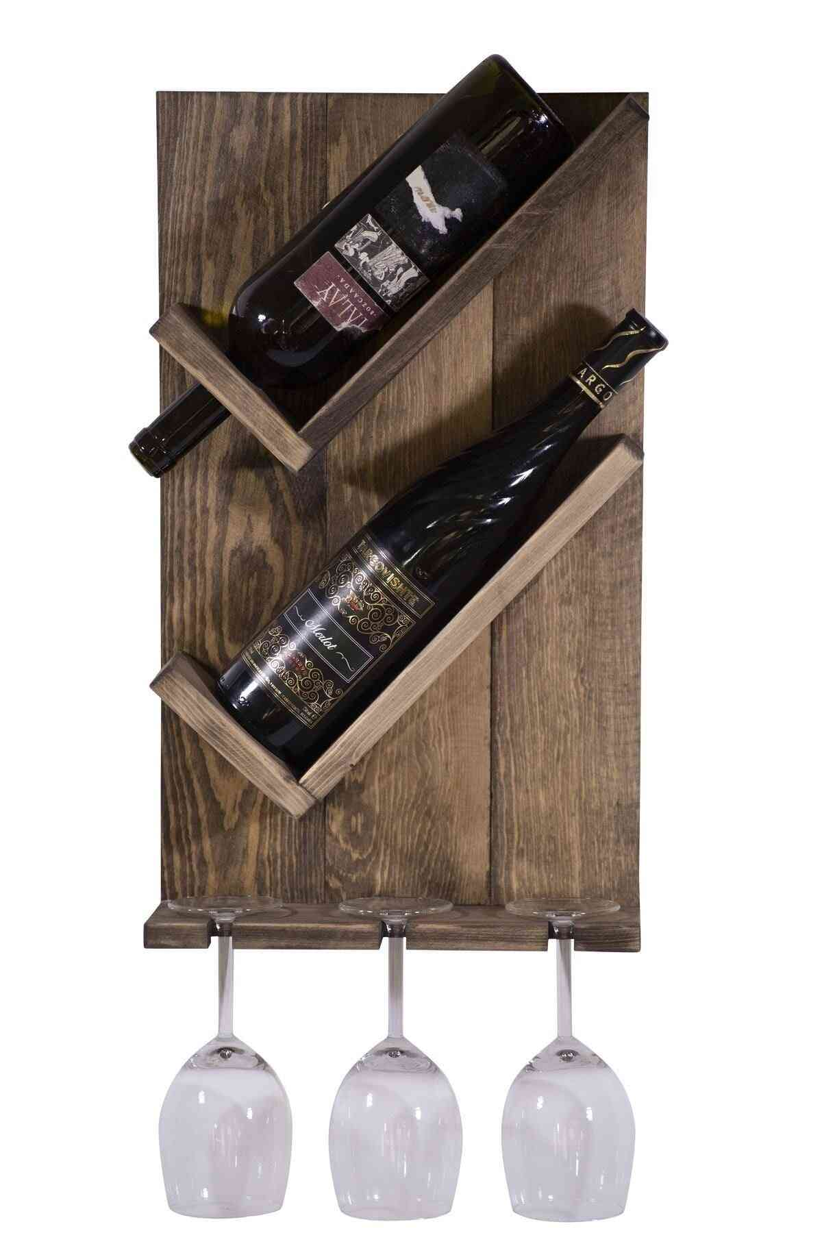 Drink Stand Solid Wall Goblet Rack