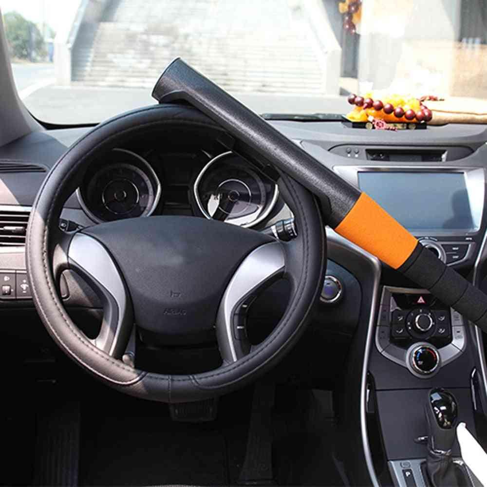 Car Steering Wheel Locking Crook Bat