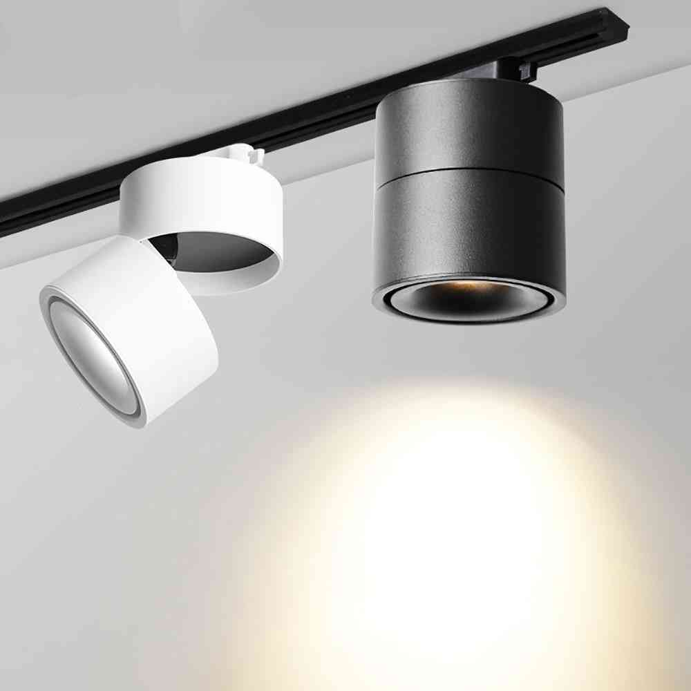 Cob Led Track Light Spot Light Ceiling Mounted Rail Mounted Spotlights Track Lighting