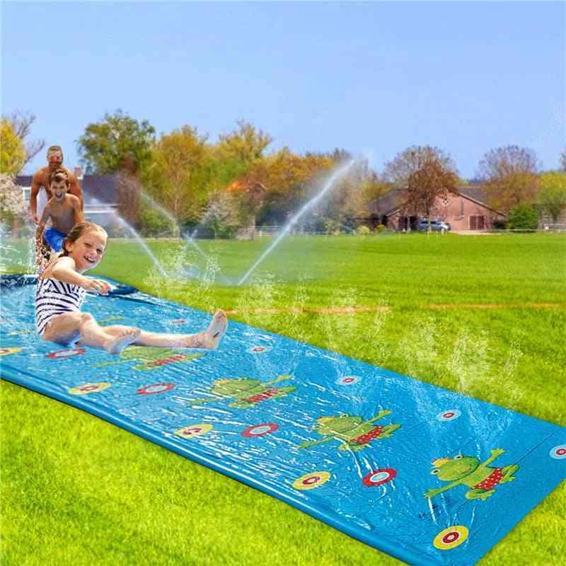 Lawn Inflatable Water Slide Pools Water Splash Slide Waterslide Summer Swimming Pool Pvc Outdoor Backyard Games