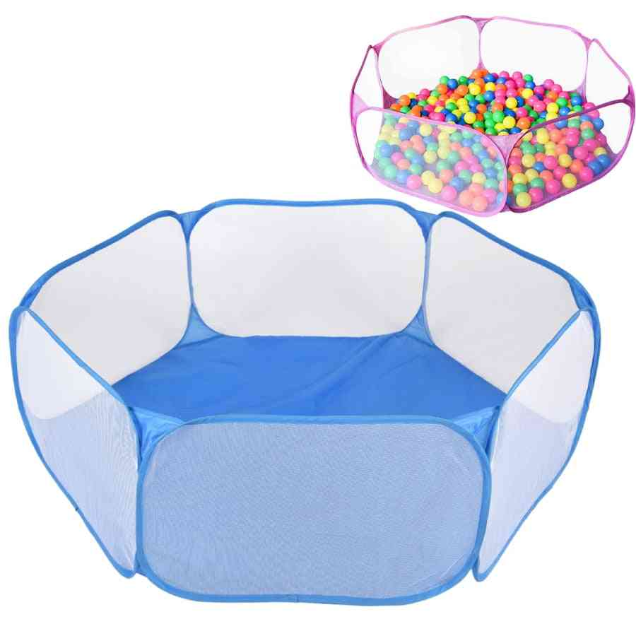 Folding Waterproof Play House, Ocean Ball Game Pool, Tent Indoor & Outdoor, Playing Pit Kids Toy