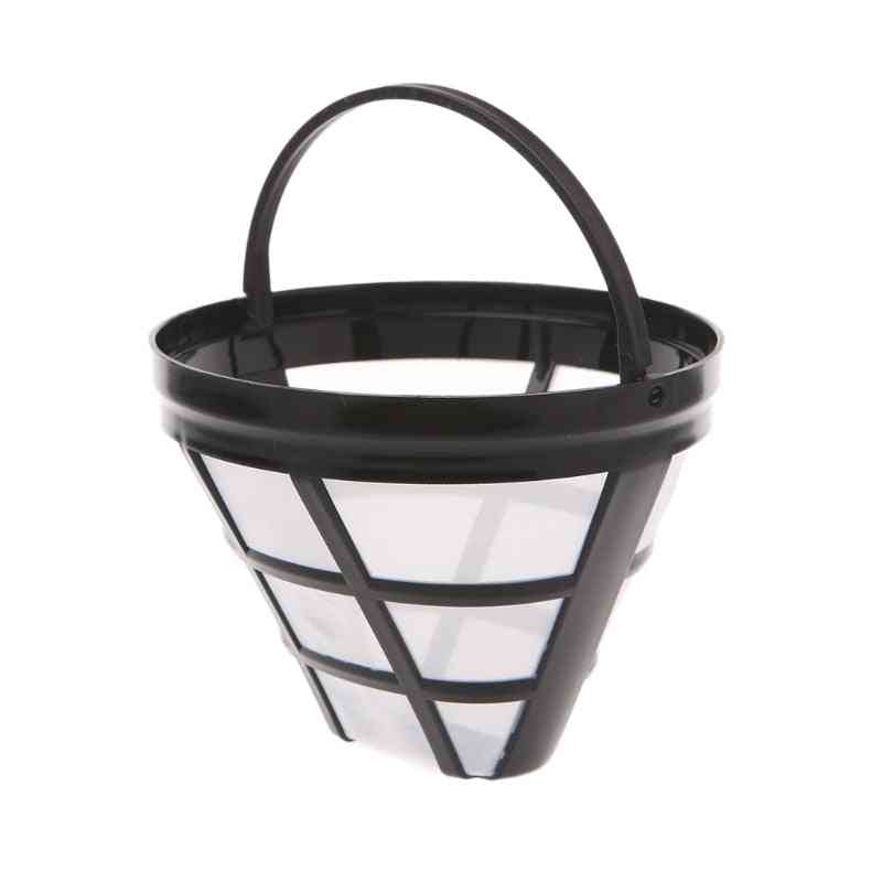 Reusable Coffee Filter Basket Cup Style Coffee Machine, Strainer, Mesh