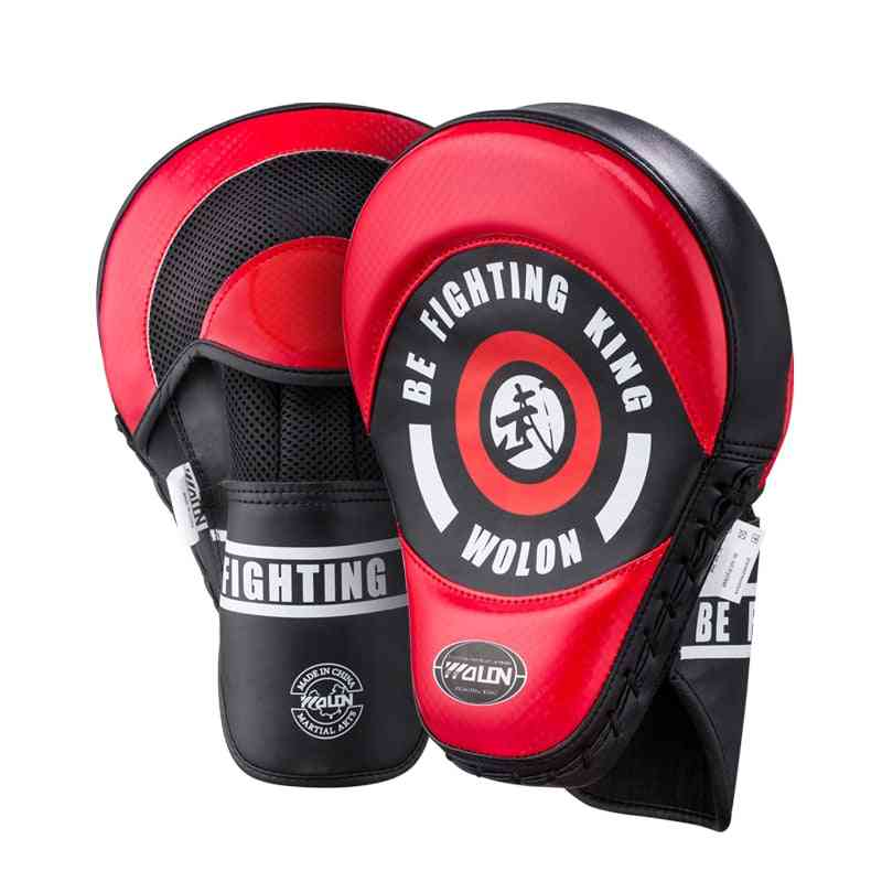 Muay Thai, Mma Boxing Pads, Punching Training Mitt Strike Target, Martial Arts Sanda Gear