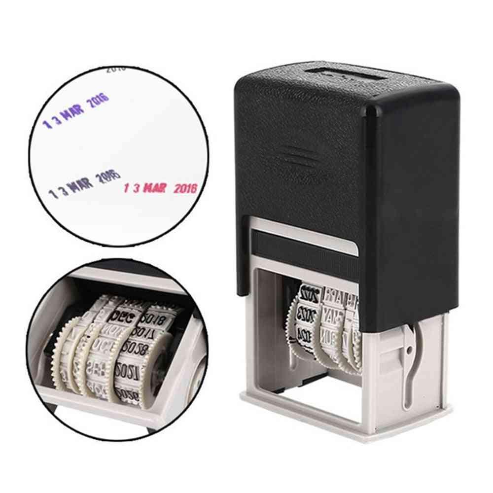 Date Stamps, Mini Words Wheel Scrapbooking Supplies, Abs Account Roller, Seal Diy Office Supplies, Mud Set, Date Seal Stamp