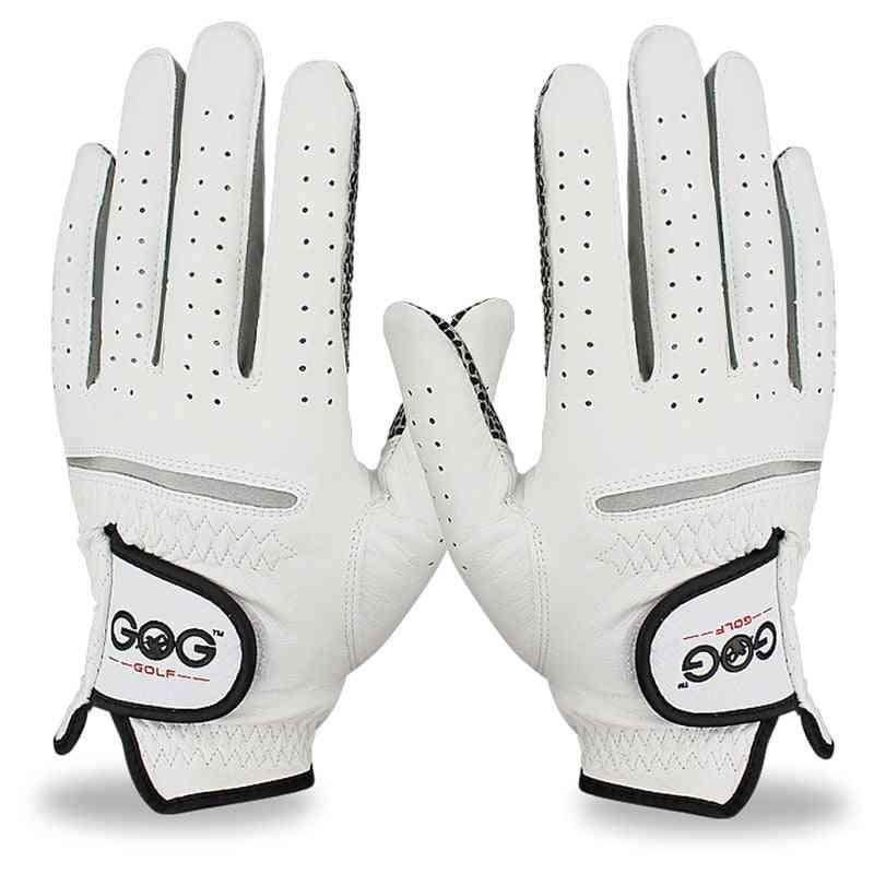 Genuine Leather Golf Gloves For Men's