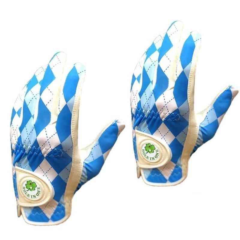 New Design Breathable Weather Soft Golf Gloves For Men