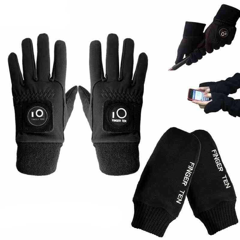 Cold Weather Windproof, Winter Golf Gloves