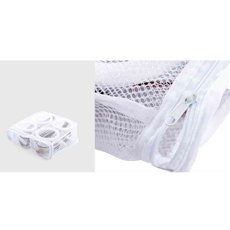 Laundry Portable Mesh Organizer Washing Bags Shoe