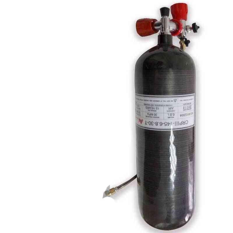 Air Tank Carbon Fiber Cylinder Pcp Air Rifle