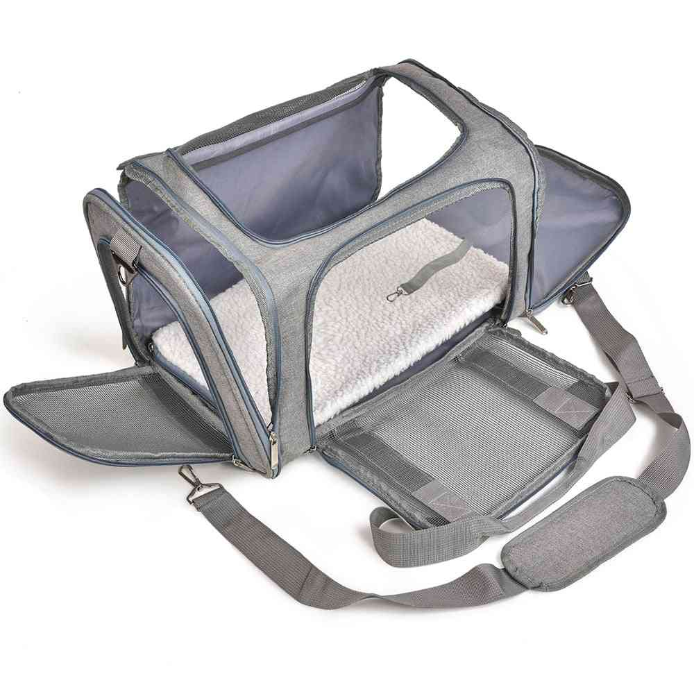 Dog Carrier Bag, Cat Small Dog Transport Backpack Box