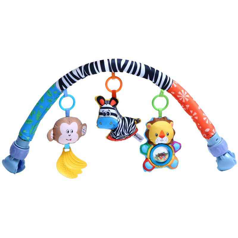 Baby Stroller Clip Hanging Pendant Baby Stroller Hanging Toy Rattle Activity Toy