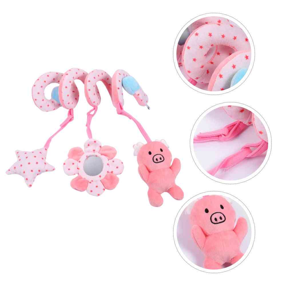 Baby Bed Hanging Spiral Rattle Cart Pendant Strollers Hanging Toy Stroller Pendant Bed Kids Crib Early Childhood