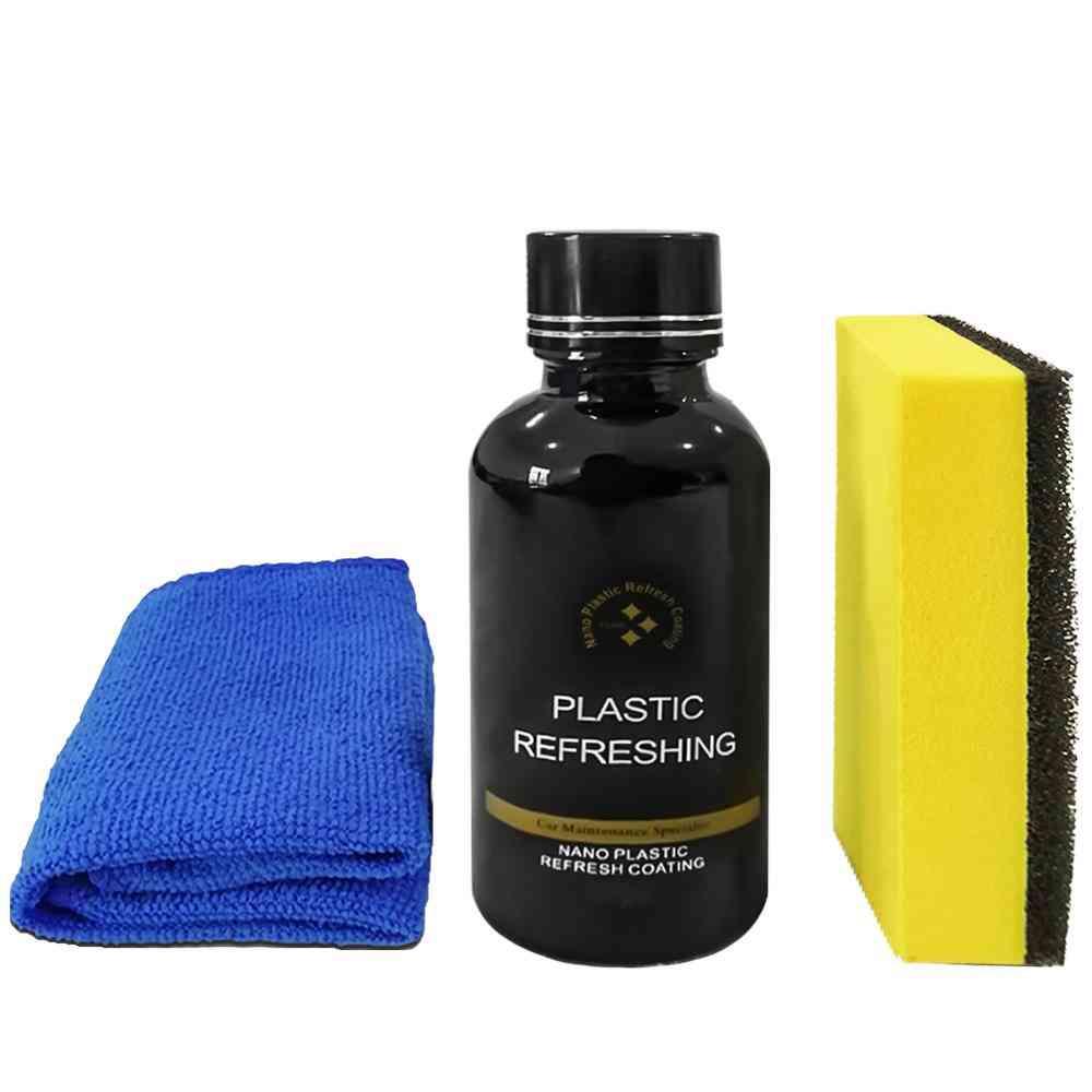 Automotive Interior Plastic Part Retreading Cleaning Agent