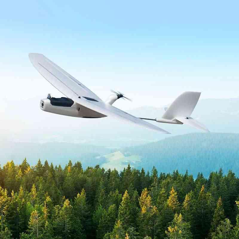 Wingspan Drone, Aio Epp Foam, Uav Remote Control Motor Airplanes Kit, Digital Servo, Propeller Version