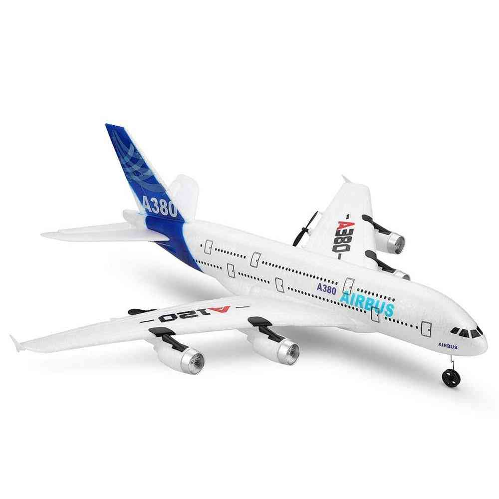 Airbus Model Remote Control Plane, Airplane Fixed-wing, Rtf Rc Wingspan Toy