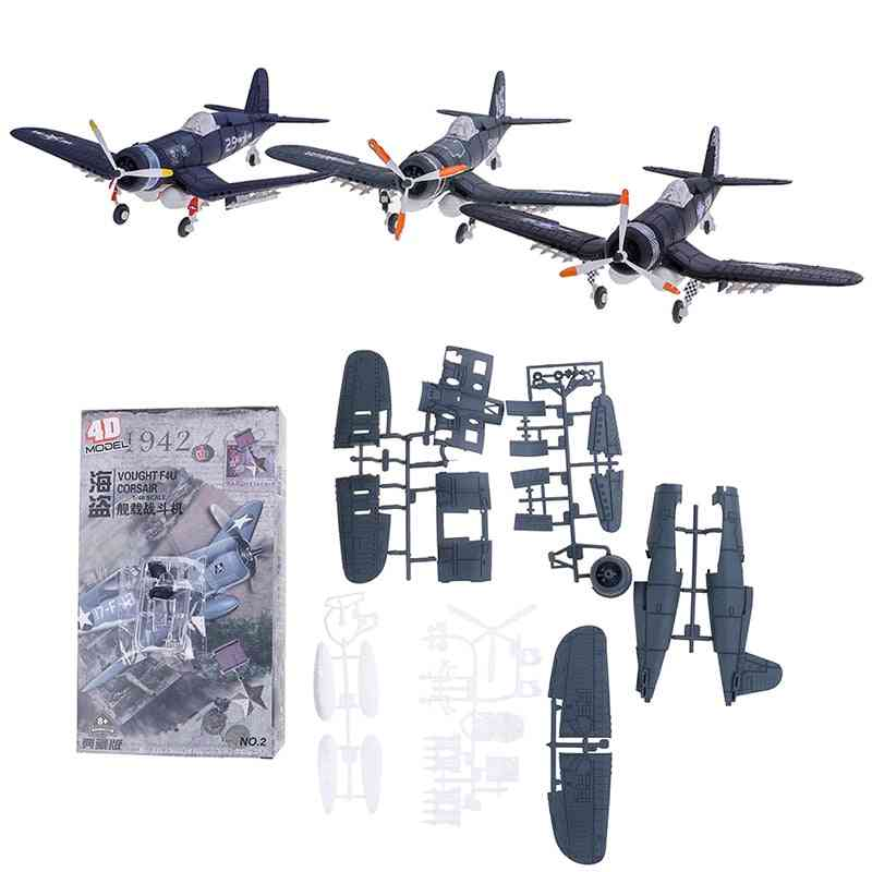 Assemble Fighter Model, Building Tool Sets, Flanker Combat, Aircraft Diecast