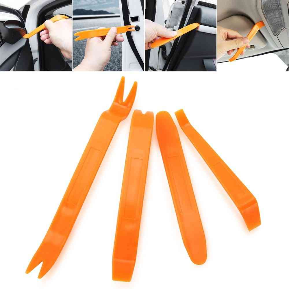 Removal Puller Pry Tool Car Door Panel Trim Upholstery Retaining Clip Plier Tool