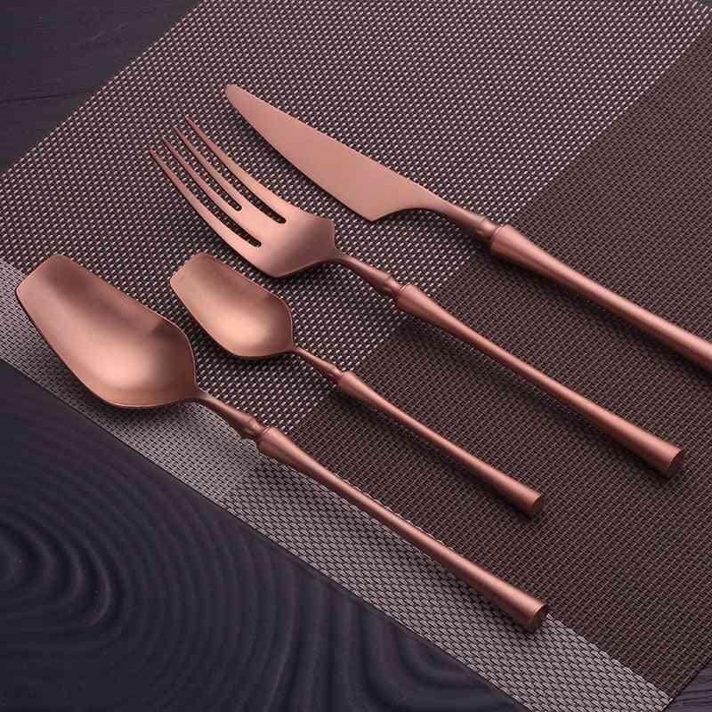 Mirror Stainless Steel Dinnerware Steel