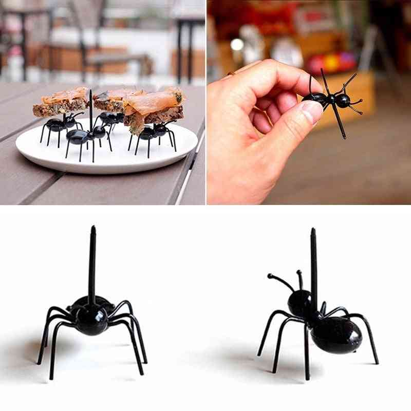 Creative Party Ants Series Of Toothpicks