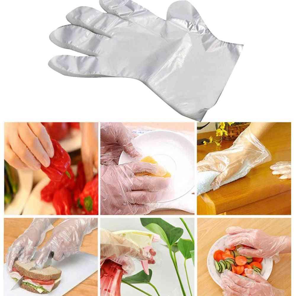 Food Plastic Disposable Restaurant Food Gloves