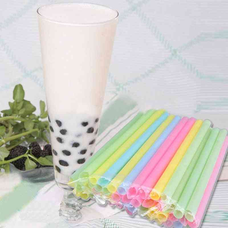 Colorful Large Drinking Straws
