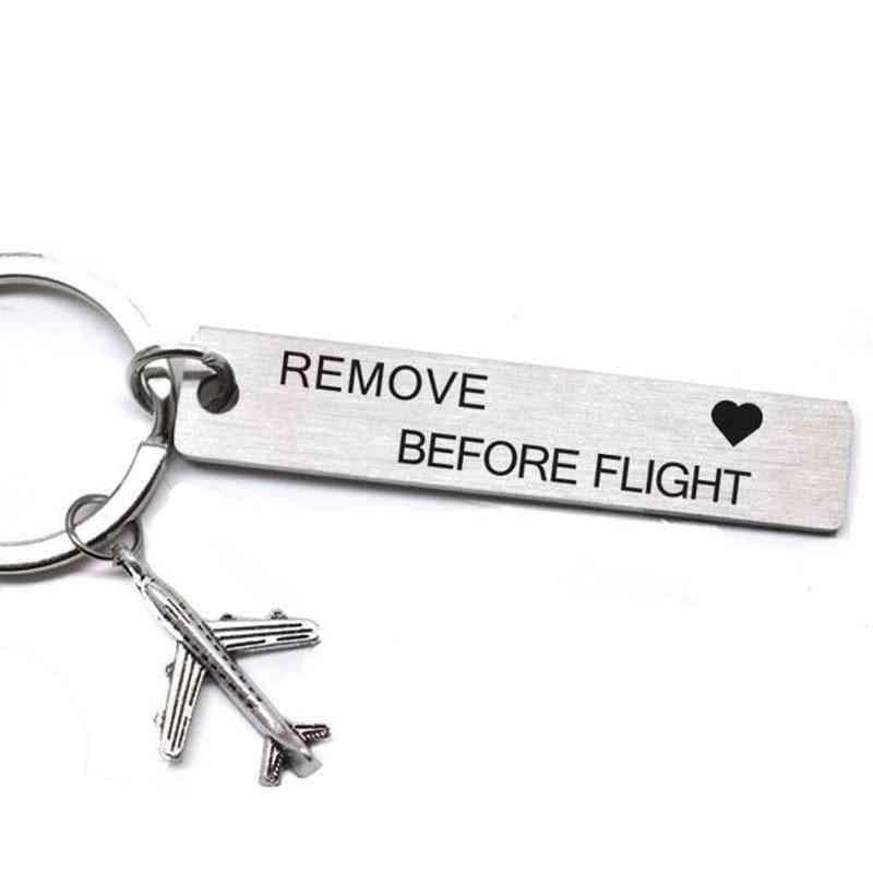 Flight Metal Bag Tags