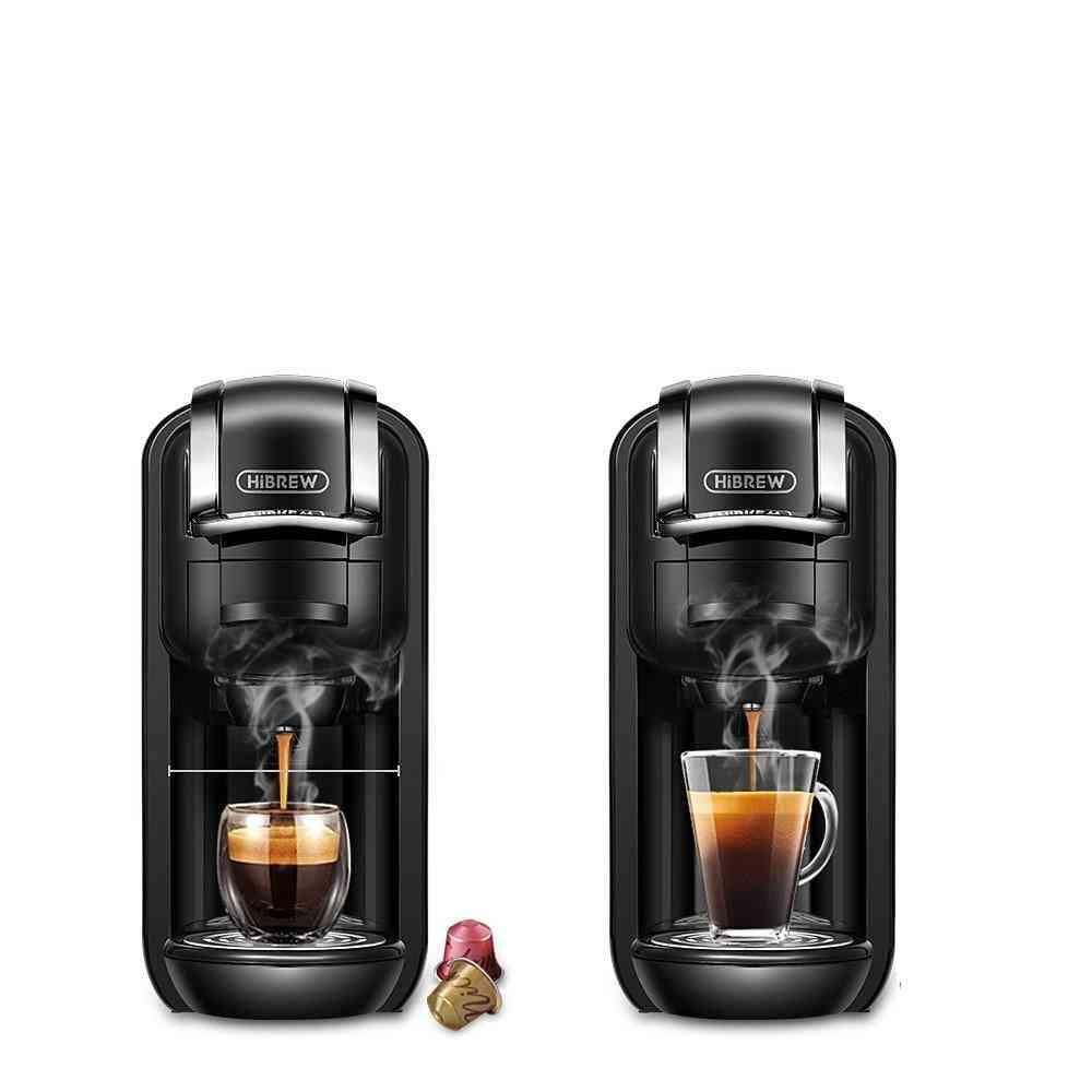 Coffee Machine, Milk & Nespresso Coffee Pod