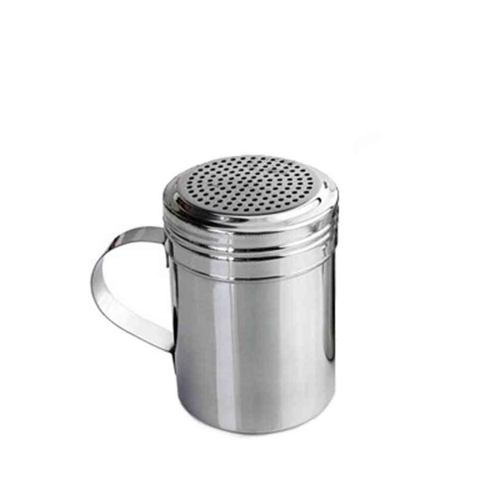 Stainless Steel Dispenser Barbecue Powder Dredge Bottles