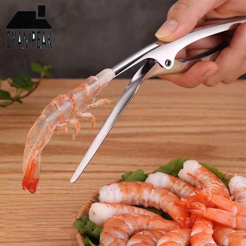 Portable Stainless Steel Shrimp Peeler