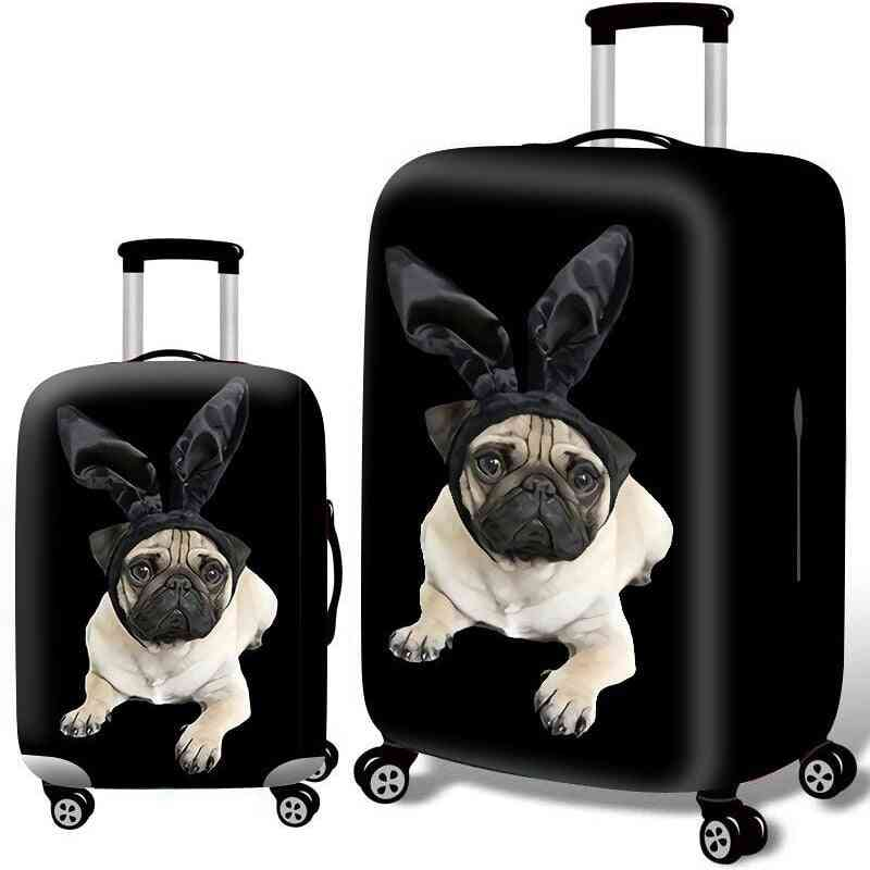 Animal Pattern Thicken Luggage Trolley Suitcase Protective Cover