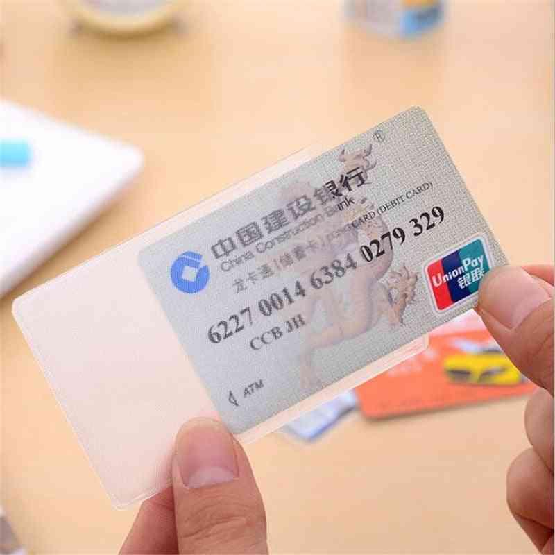 Waterproof Transparent Id Card Holder Plastic Case