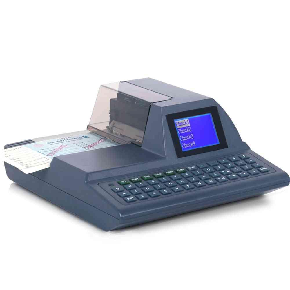 Full-keyboard Check Printing Printer Cheque Writer Check Writing Machine
