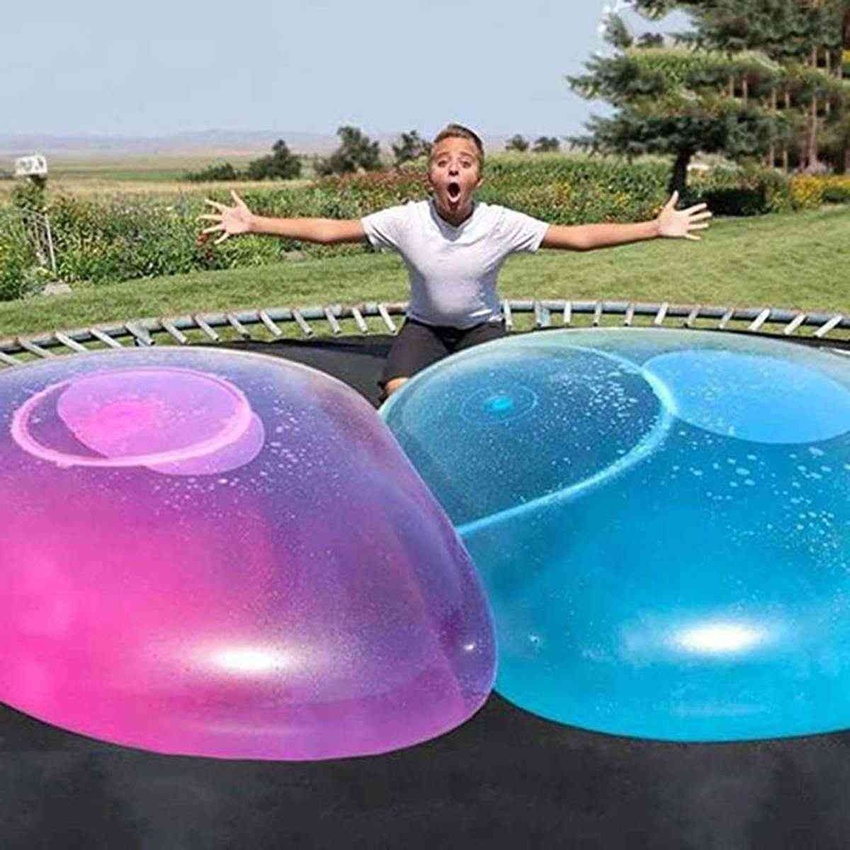 Baby Outdoor Amazing Balls, Soft Air Water Filled Blow Up For Toy, Fun Party Game, Summer For Kids