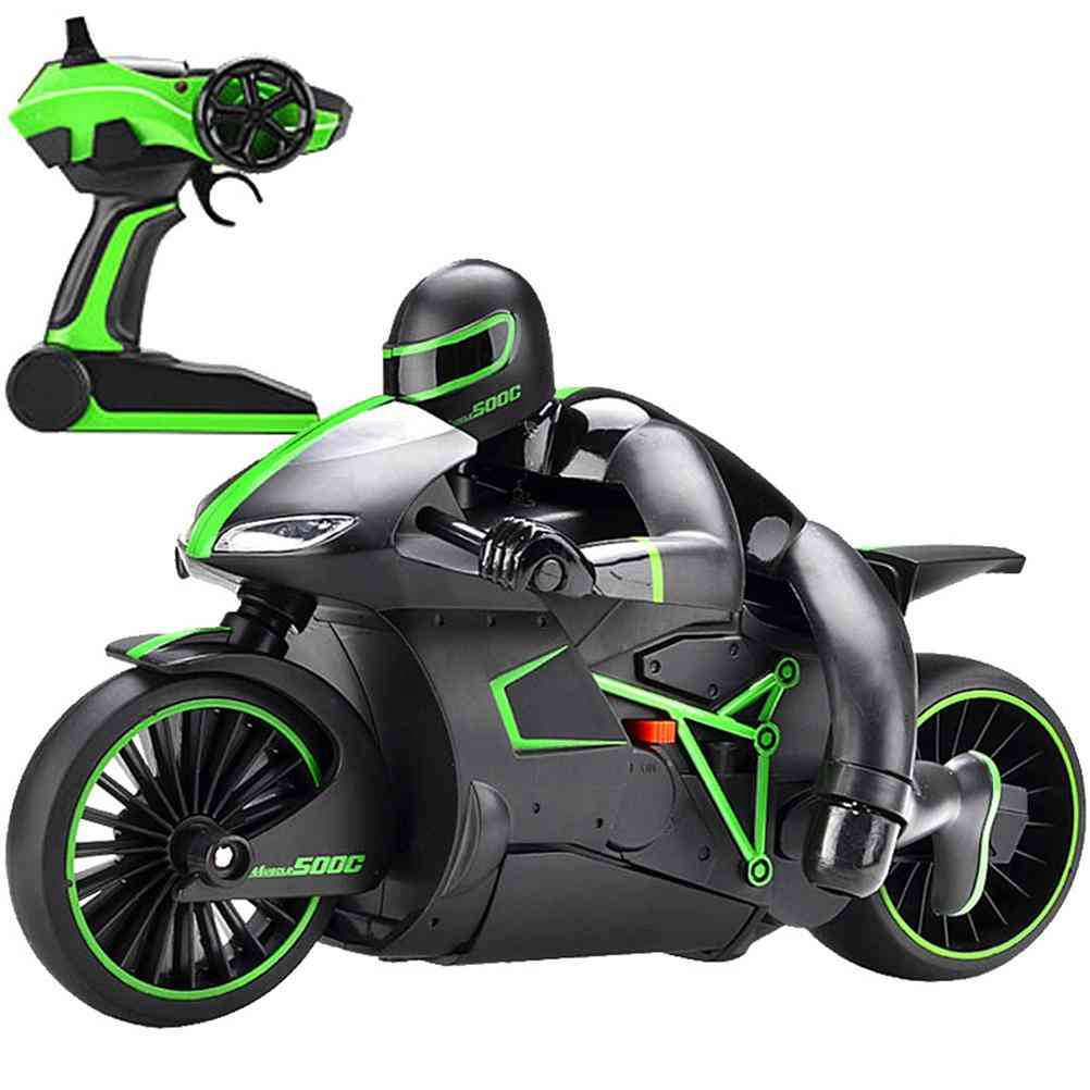 Mini Rc Motorcycle Radio Controlled, Motorbike Toy, Kid Intellectual Drift Buggy