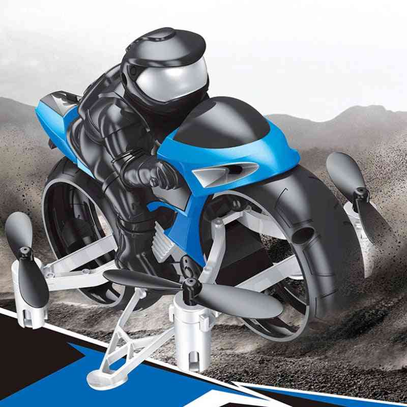 Rc Remote Control Stunt Motorcycle, Drifting Motorbike, Led Sound Model, Kids Toy, Land Air Fly