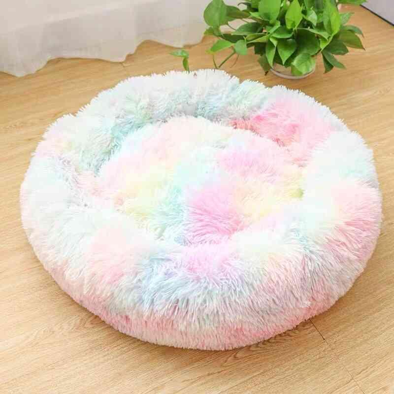 Cotton & Seamless Long Plush Pet Bed - Set 2