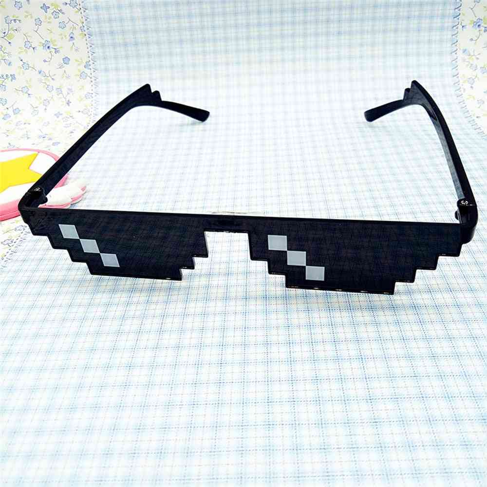 Thug Life Glasses 8 Bit Pixel Deal With It Sunglasses Unisex Sunglasses Birthday Party