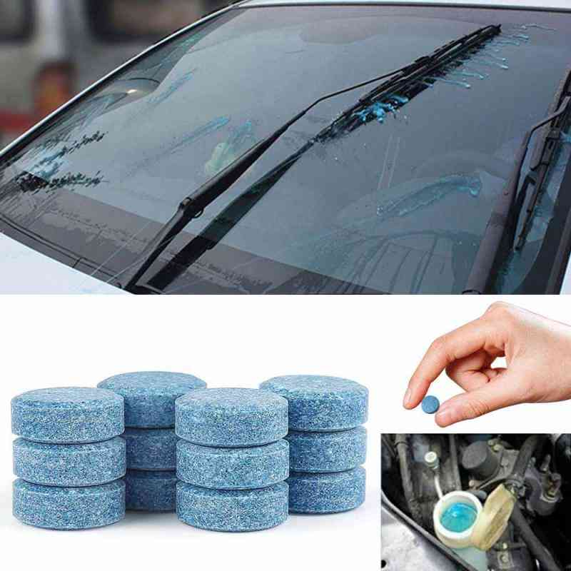 10pcs Condensed Effervescent Tablet Wiper Car Windshield Glass Washer