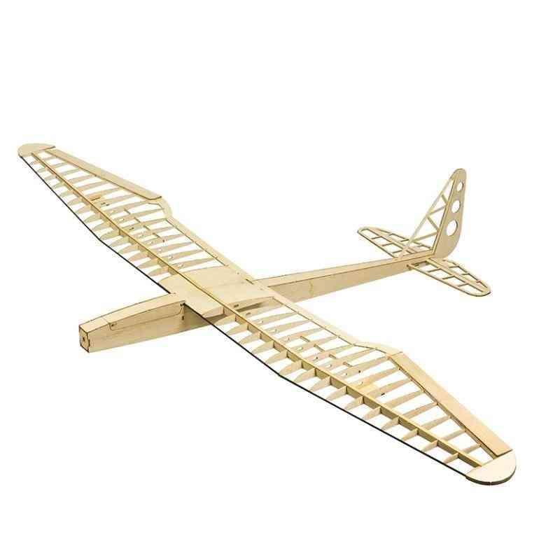 Sunbird Electric Glider Laser Cut Balsa Kit 1600mm Balsawood Airplane Model Building Rc Woodiness Model Wood Plane