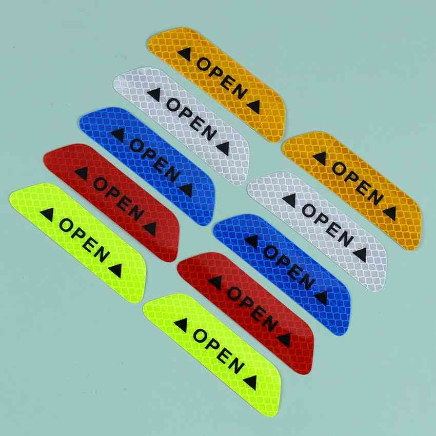 Universal Safety Warning Mark Open High Reflective Tape