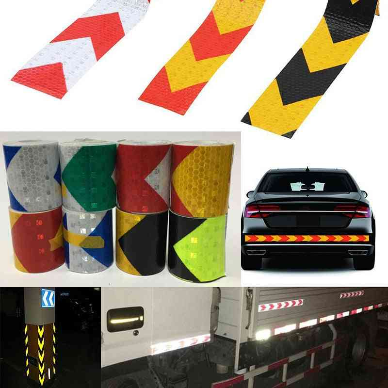 Arrow Reflective Safety Caution Warning Tape