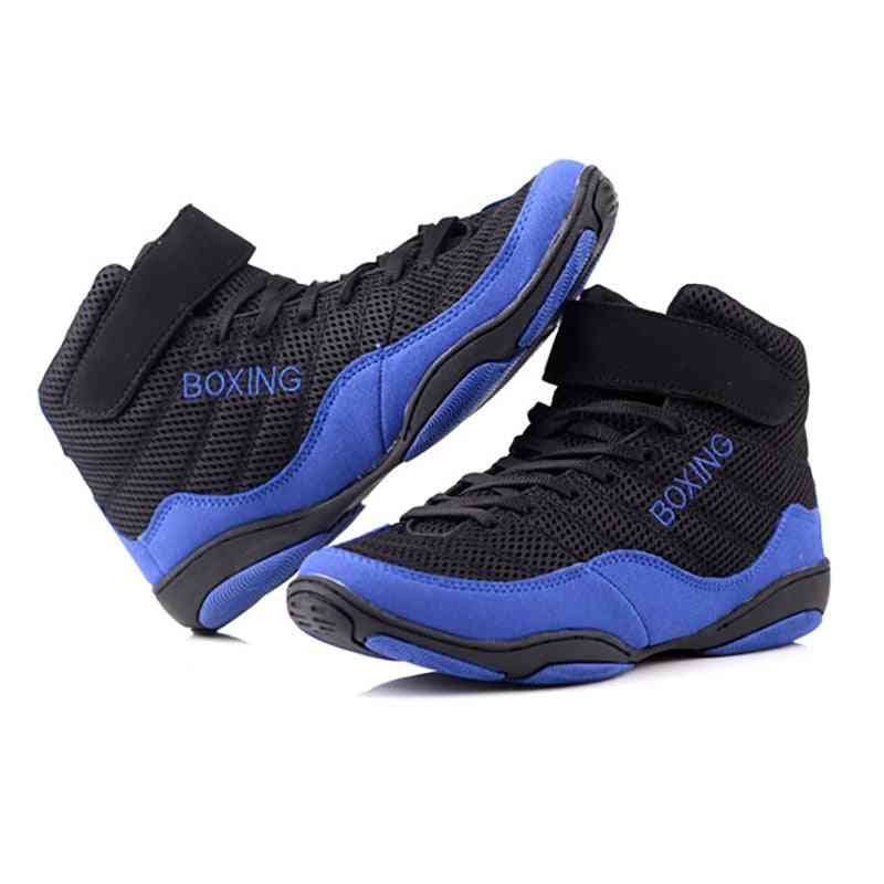 Men Professional Boxing Wrestling Combat Weight Lifting Shoes