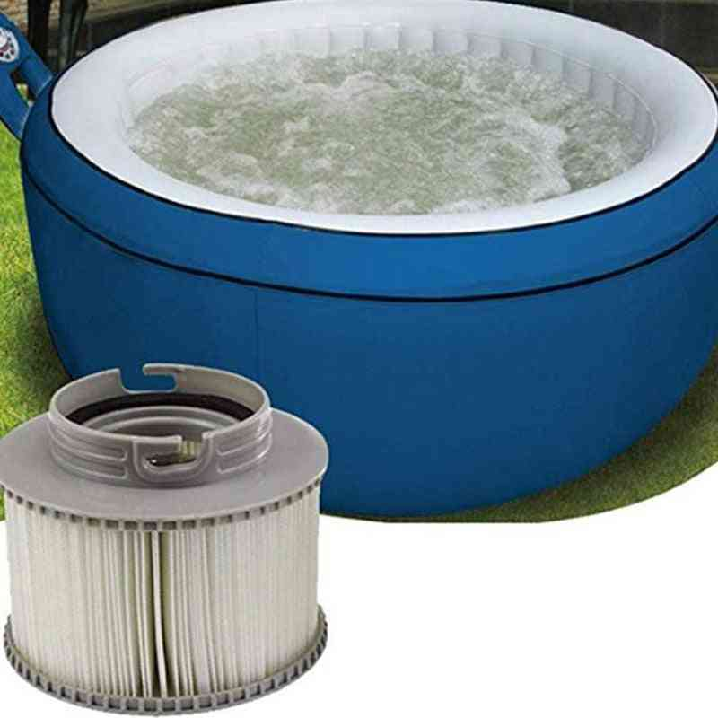 Mspa Replacement Filter, Inflatable Spa Tub, Keep Clean For Water Cartridge